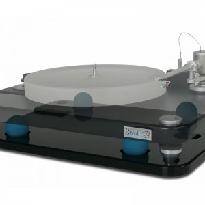Cloud 9S platform, shown with the VPI Scout turntable