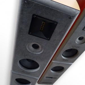 Front view of ClaraVu 7 Mk3 speaker