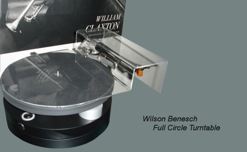 ClaraVu dust cover for Wilson Benesch Full Circle turntable