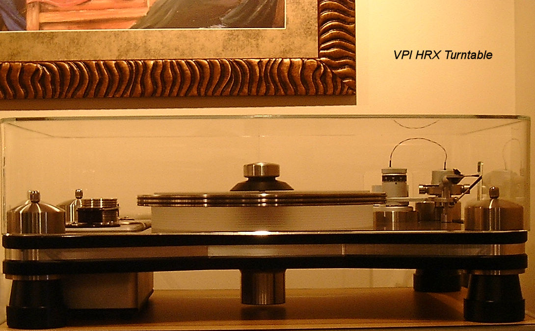 ClaraVu dust cover for VPI HRX turntable