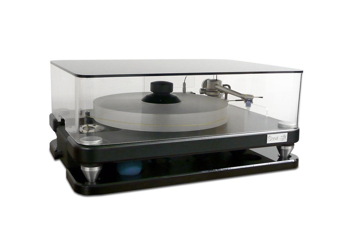 ClaraVu dust cover for VPI Scout turntable