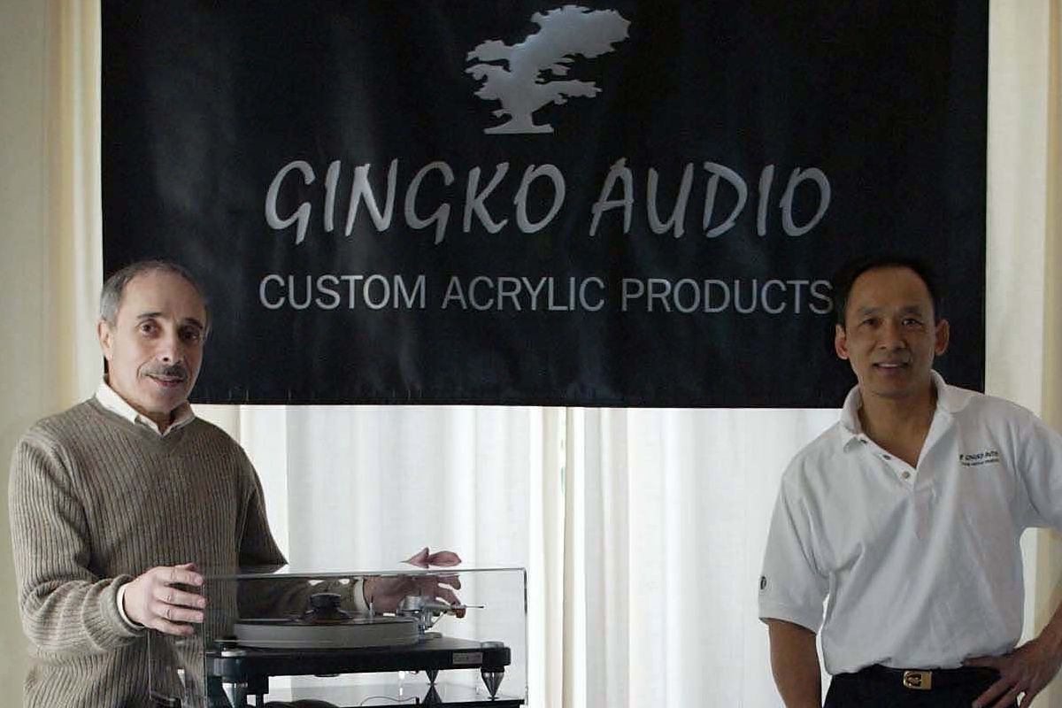 Gingko Audio's principal partners: Vinh Vu and Norm Ginsburg