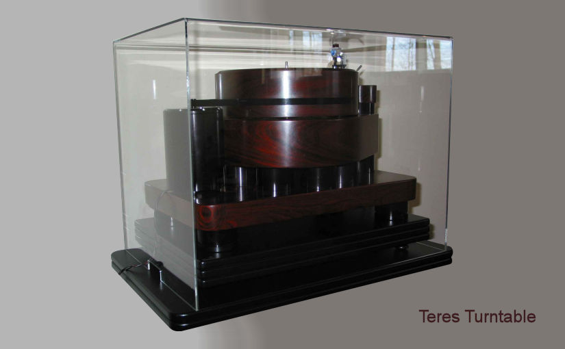 ClaraVu dust cover for Teres turntable