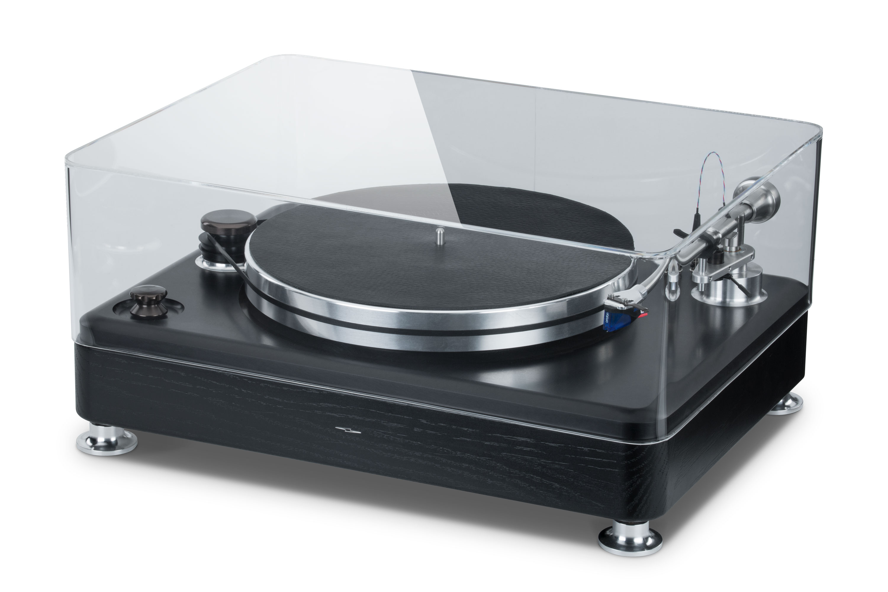 ClaraVu dust cover for Shinola turntable with clear top