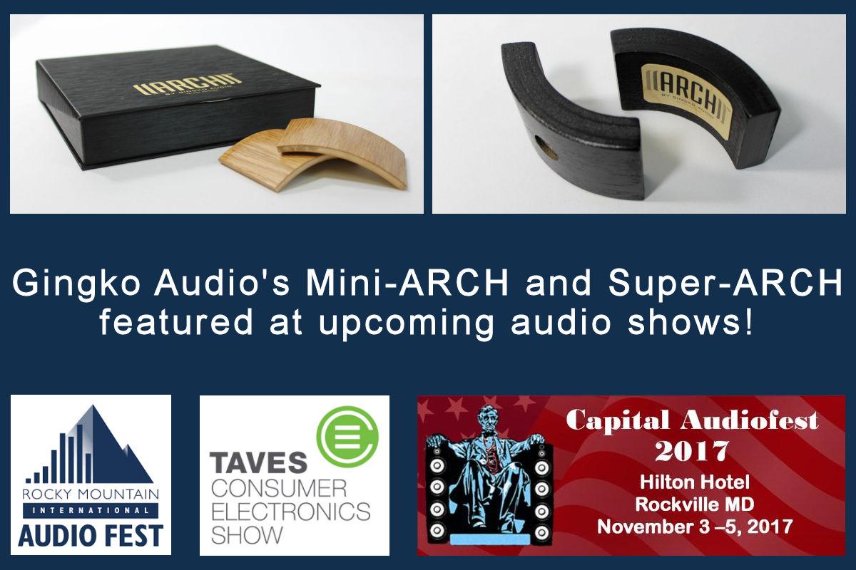 Gingko Audio ARCH at Fall 2017 Audio Shows